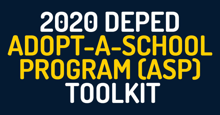2020 DepEd Adopt-A-School Program (ASP) Toolkit