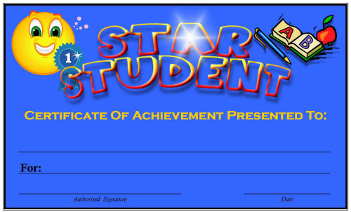 Free Printable Award Certificates for Elementary School ...