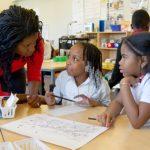 teacher using formative assesment