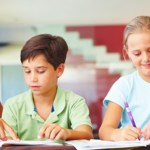 Parents get involved with their children's education