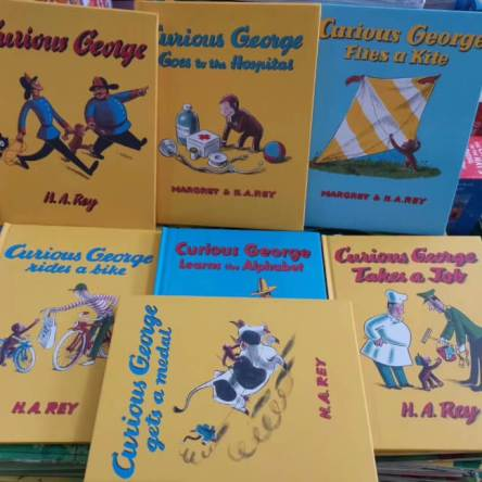 Curious George Book Set