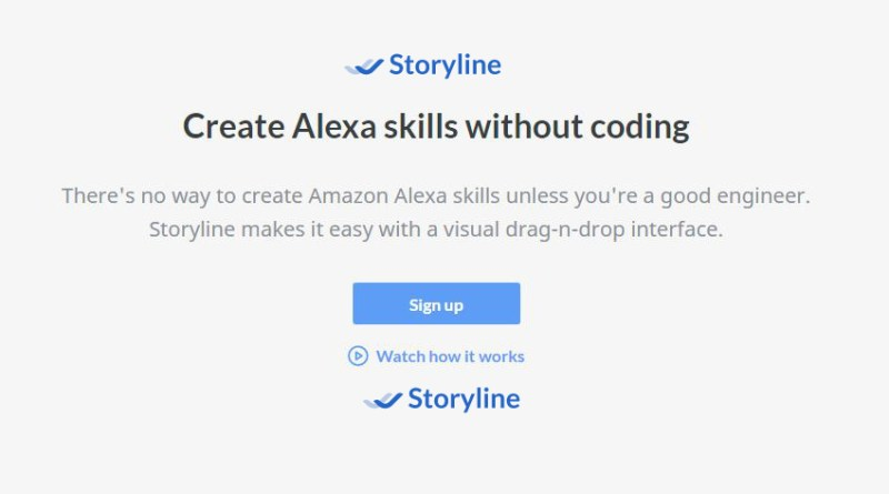 Create amazon skills with storyline