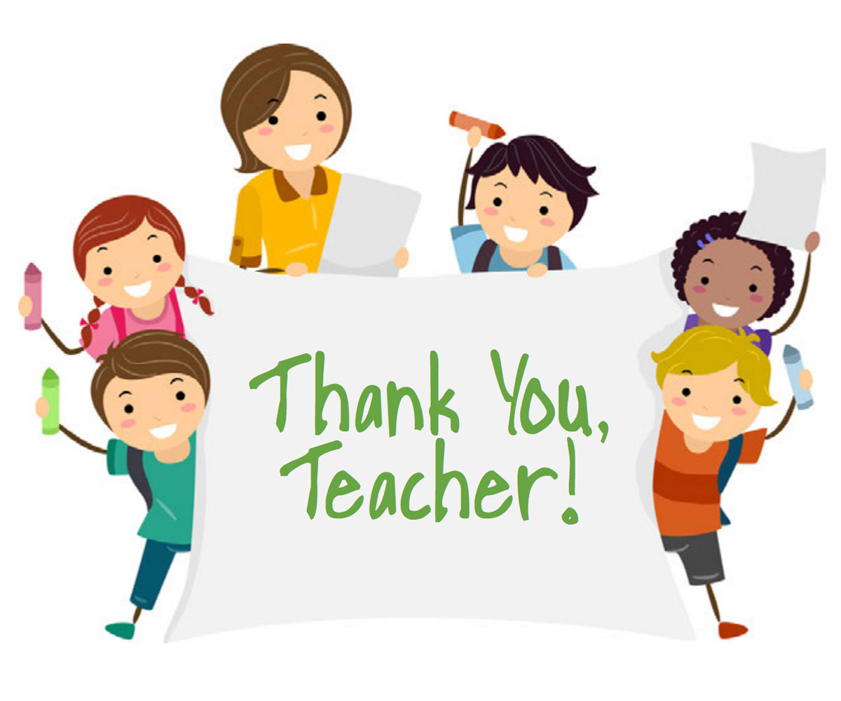 Teacher Appreciation Week Free Printable Thank You Card