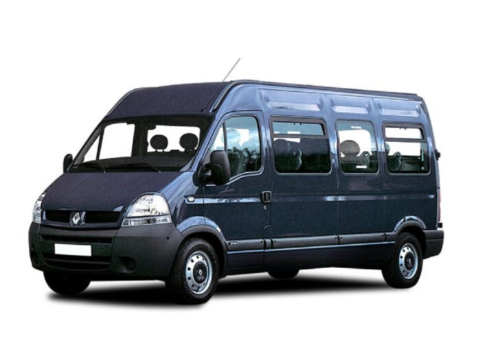 minibus to manchester airport