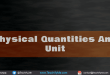 Physical-Quantities-And-Unit