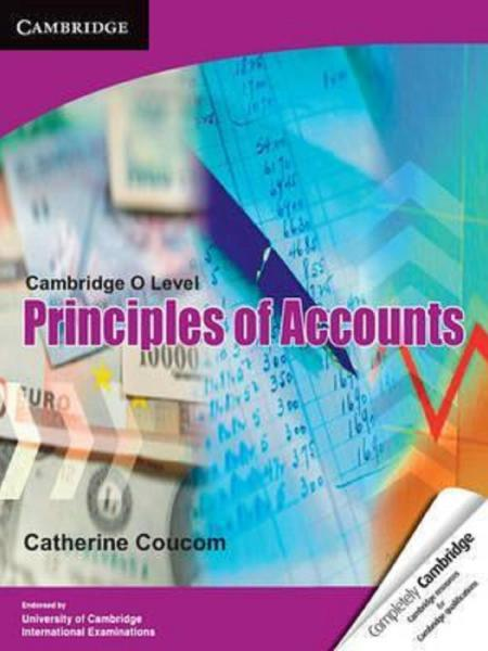 Buy O Level Principle Of Accounts Books Past Papers
