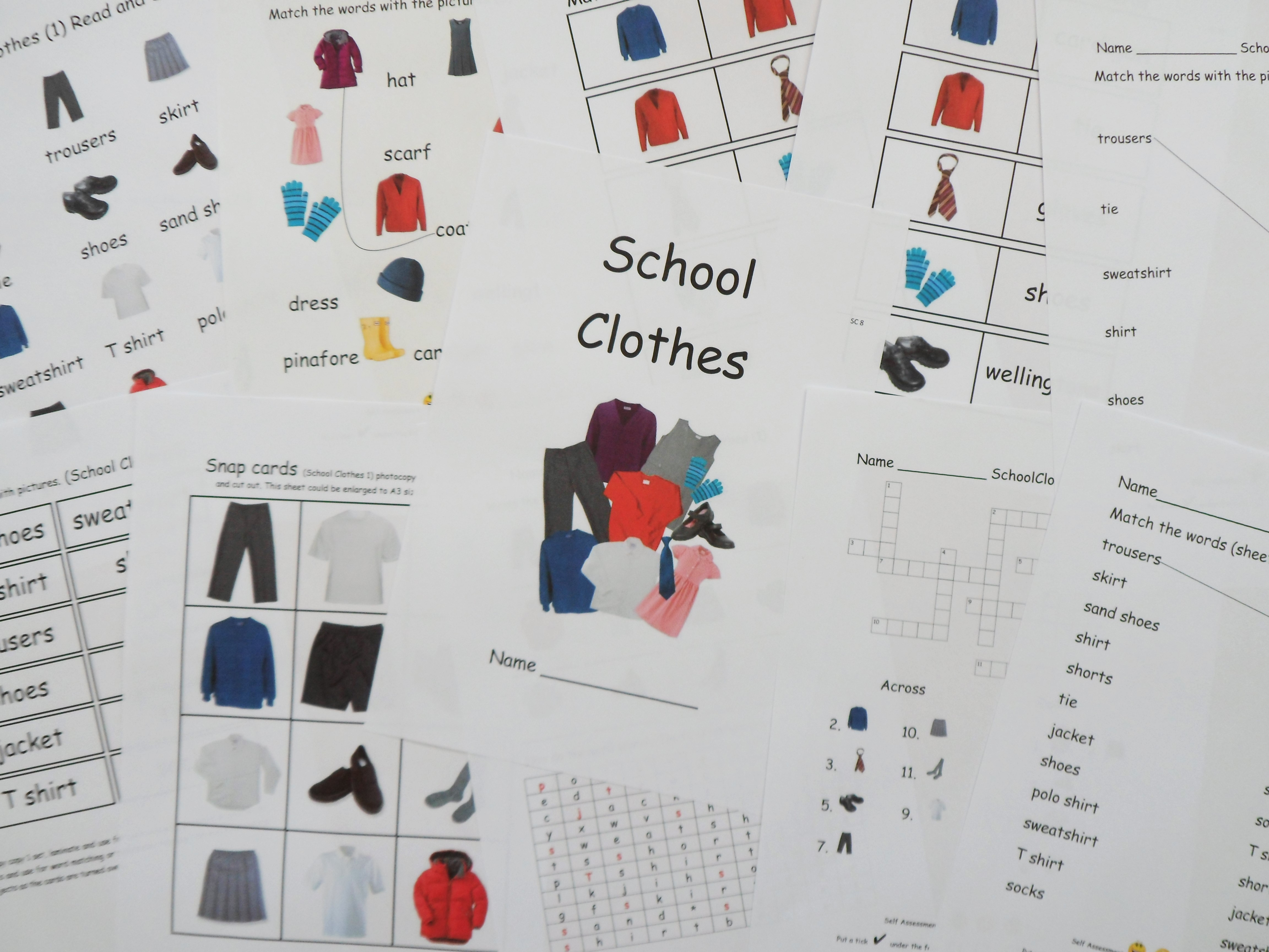 Eal Esl Worksheets And Games For Initial Learners School