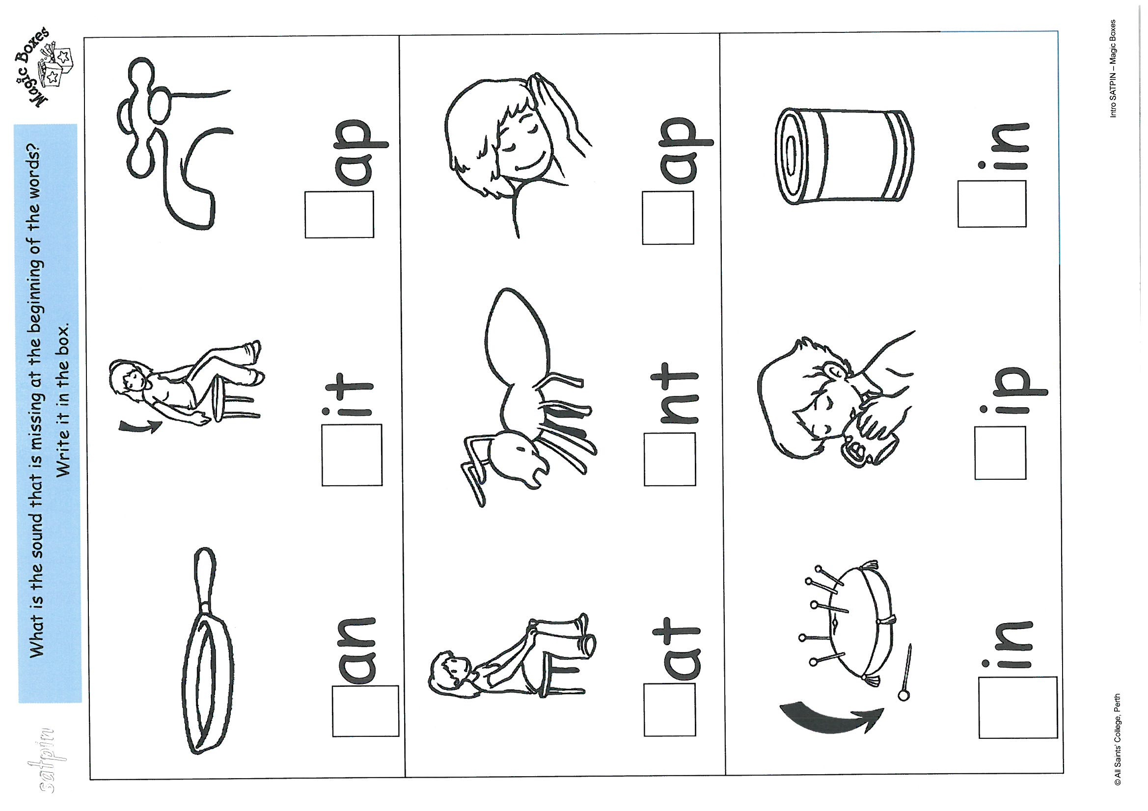 Joe Blog Jolly Phonics Worksheets Satpin