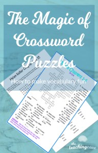 Crossword Puzzle Vocabulary Learning