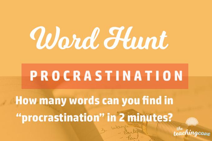 Word Hunt Game