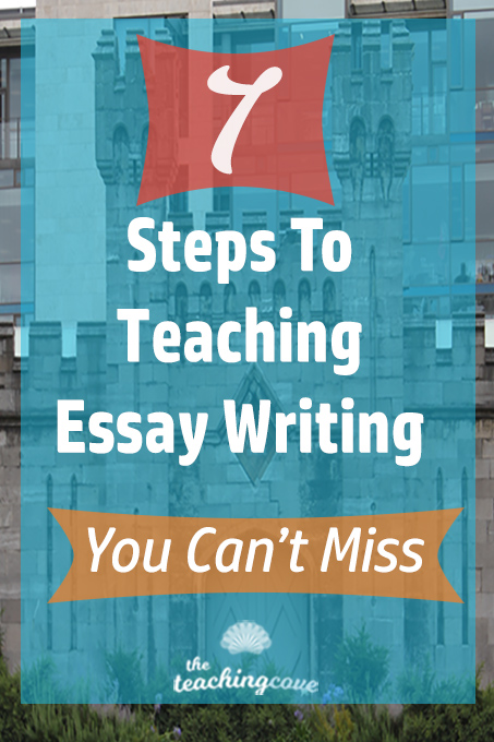 Essays On The Importance Of Being Earnest Steps To Teaching Essay Writing You Can T Miss The Teaching Cove  Steps To  Teaching High School  Essays On Othello also Analytical Essay Outline Free Essay Writing Plagiarism Essays  Plagiarism Essay Writing  Poverty Essays