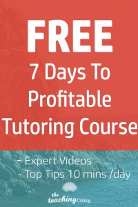 Free Course to Profitable Tutoring