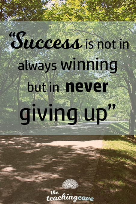 Success is not always winning