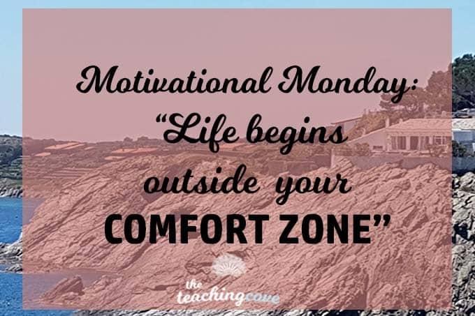 Motivational Monday Comfort Zone
