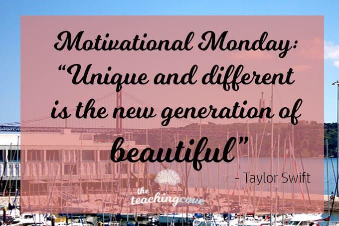 Motivational Monday 34 - Being Unique