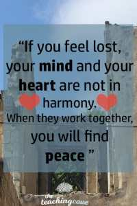 Motivational Monday 35 - If You Feel Lost - Mind & Heart Harmony