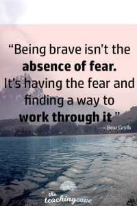 Motivational Monday 36 Absence of Fear