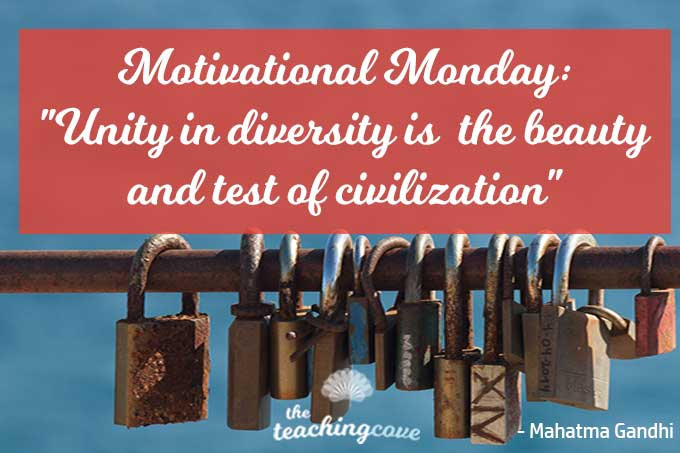 Motivational Monday: 3 Ways Unity In Diversity Is The Beauty & Test of Civilization