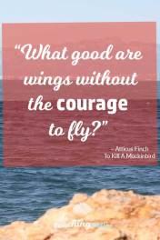 Motivational Monday 50 - Courage