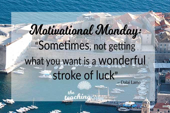 Motivational Monday 52 featured luck