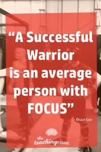Motivational Monday 54 Focus