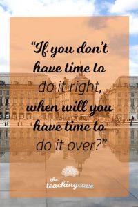 Motivational Monday 59 Efficiency
