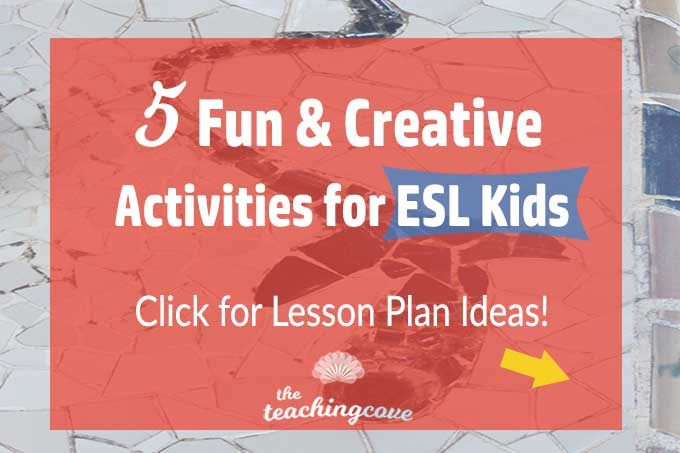 5 Creative English Activities For Kids featured