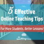 5 Great Tips To Teach English Online Effectively