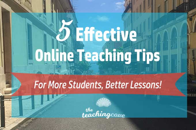 5 Teach Online Tips featured