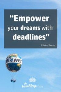 Motivational Monday 79 Deadlines
