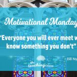Motivational Monday: Everyone Knows Something You Don't – On Conversation