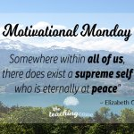 Motivational Monday:  Eternally At Peace – On A Sense of Mental Calm