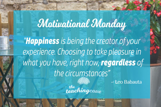 Motivational Monday: On How To Enjoy The Process