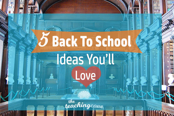 5 Back To School Ideas Roundup featured