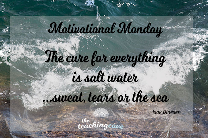 """Motivational Monday: When You're Stressed Out, The Cure Is """"Salt Water""""…"""