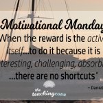 Motivational Monday: On Drive – When The Reward Is The Activity Itself