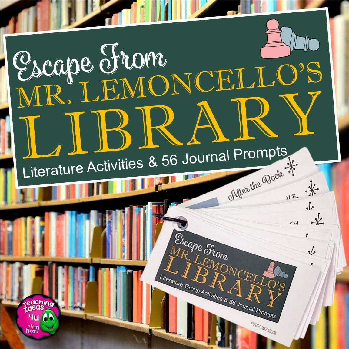 Escape From Mr Lemoncello S Library Reading Journal
