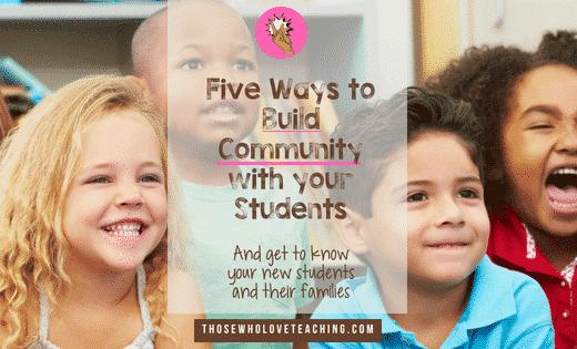 Students building community
