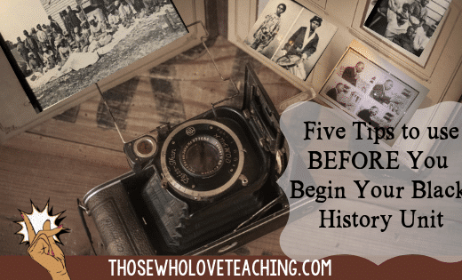 Black HIstory photographs and an antique Camera