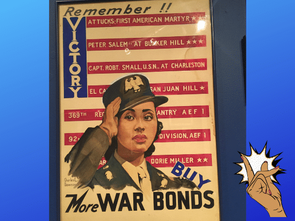 Buy War Bonds African American Poster