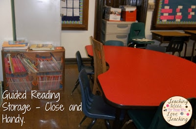 Guided Reading Lessons Storage