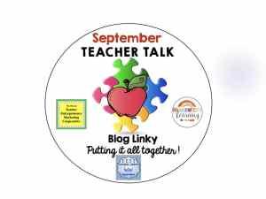 September Teacher Talk
