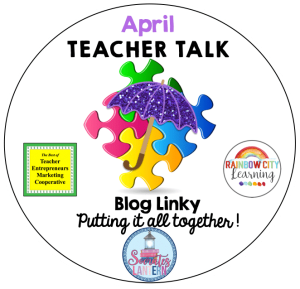April Teacher Talk Logo