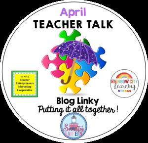 April Teacher Talk Logo