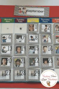 Editable daily calendar cards
