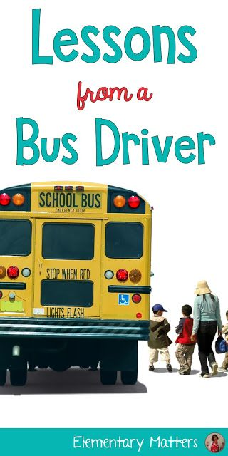 Lessons from a Bus Driver