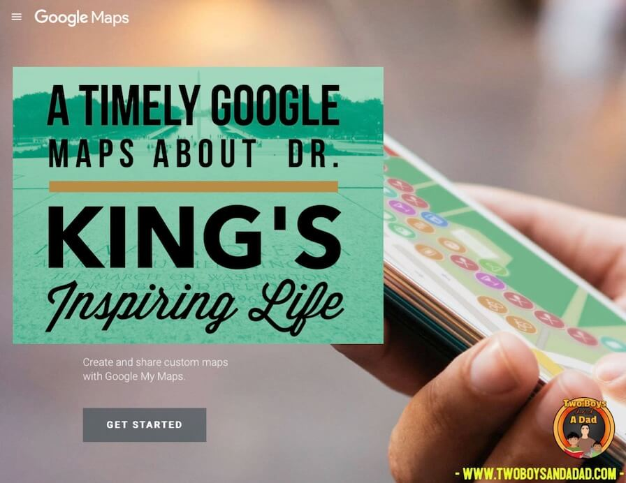 Google Maps and Dr. King