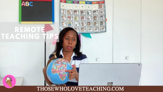 Tips for remote teaching