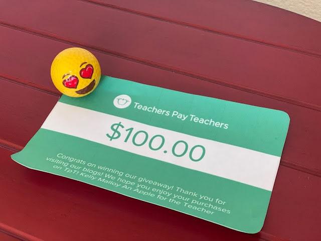 Teachers Pay Teachers Giveaway