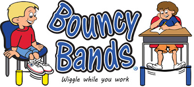 Bouncy Bands help kids focus